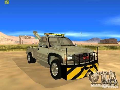 GMC Sierra Tow Truck para GTA San Andreas