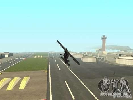 Um novo avião-Dodo para GTA San Andreas vista superior
