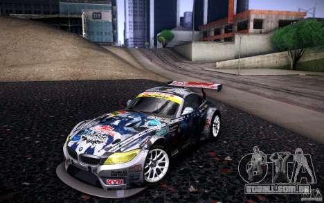 BMW Z4 E89 GT3 2010 para as rodas de GTA San Andreas