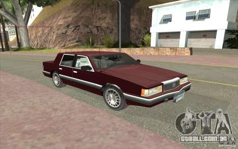 Chrysler Dynasty para GTA San Andreas esquerda vista