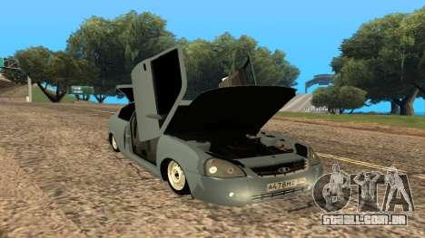 LADA Priora 2172 para o motor de GTA San Andreas