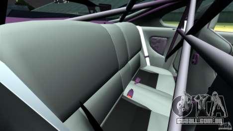 Toyota Supra Top Secret para GTA 4 vista lateral