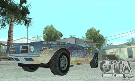 Speedevil de FlatOut para GTA San Andreas vista traseira