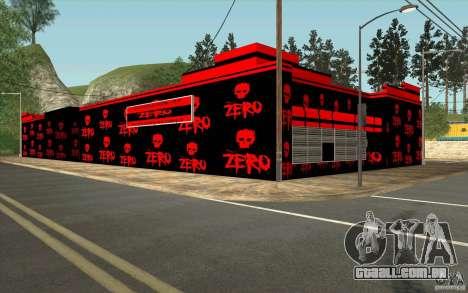 Uma aldeia nova Dillimur para GTA San Andreas quinto tela