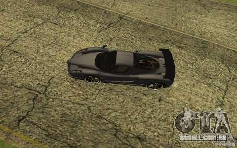 Ferrari Enzo ImVehFt para GTA San Andreas esquerda vista