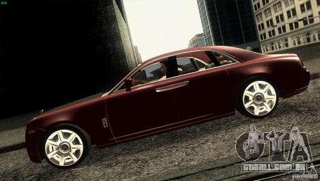 Rolls-Royce Ghost 2010 V1.0 para GTA San Andreas esquerda vista