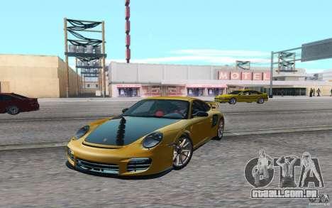 Advanced Graphic Mod 1.0 para GTA San Andreas por diante tela