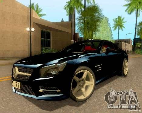 Mercedes-Benz SL350 2013 para GTA San Andreas vista interior
