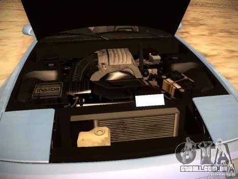 Mazda RX-7 FC3S para GTA San Andreas vista superior