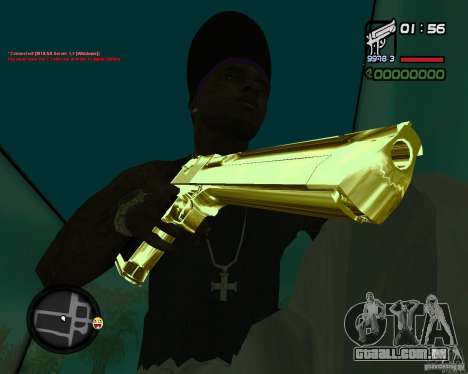 Desert Eagle GOLD para GTA San Andreas