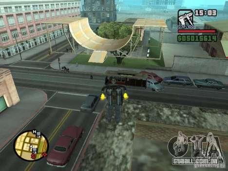 Construção de casas, 3 (e não só) para GTA San Andreas segunda tela