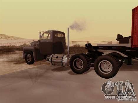 Mack B 61 para GTA San Andreas vista direita