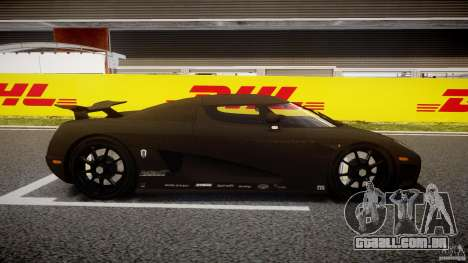 Koenigsegg CCXR Edition para GTA 4 vista interior