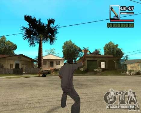 Foguete m-24 para GTA San Andreas terceira tela