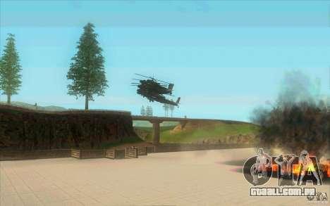 6 estrelas para GTA San Andreas por diante tela