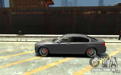 BMW ActiveHybrid 7 2010 para GTA 4 esquerda vista