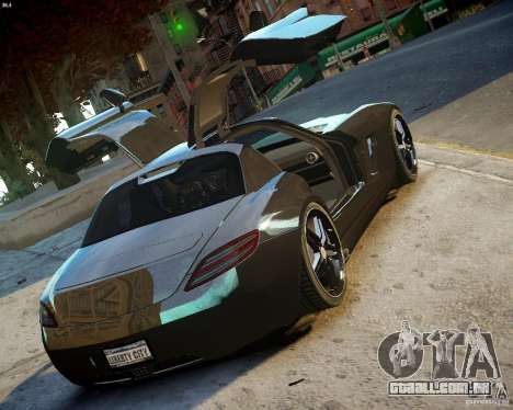 Mercedes SLS Extreme para GTA 4 vista direita