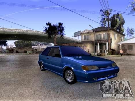 Estoque de 2113 VAZ para GTA San Andreas esquerda vista