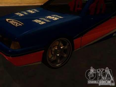 Previon FNF3 para GTA San Andreas esquerda vista