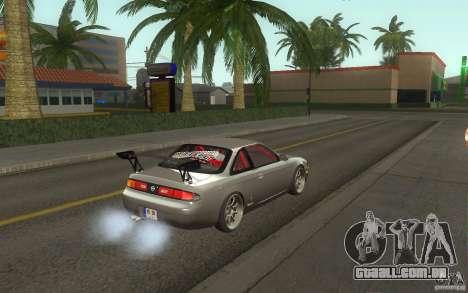 Nissan Silvia S14 Zenkitron para GTA San Andreas vista direita