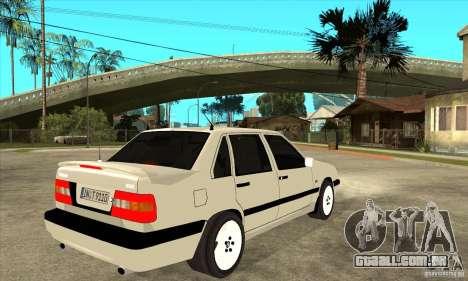 Volvo 850 Turbo para GTA San Andreas vista direita