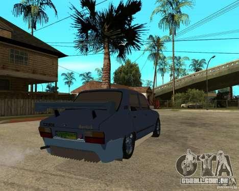 Dacia 1310 tuning para GTA San Andreas traseira esquerda vista