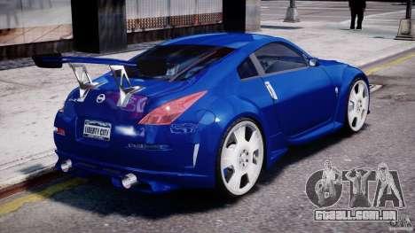 Nissan 350Z Veilside Tuning para GTA 4 motor