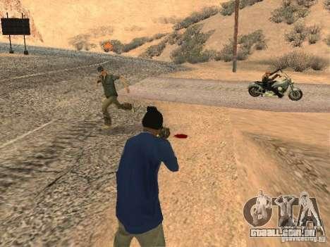 Sistema modificado pedov para GTA San Andreas segunda tela