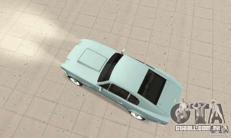 Aston Martin V8 para GTA San Andreas traseira esquerda vista