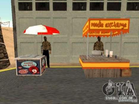 Novo vendedor de cachorro-quente para GTA San Andreas