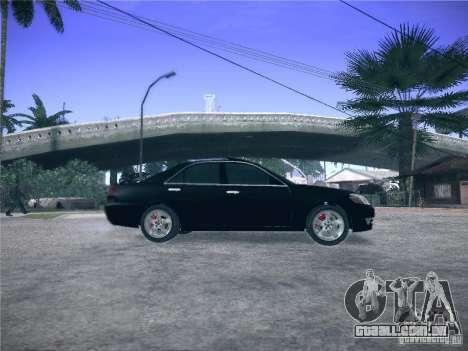 Toyota Mark II Grande para GTA San Andreas esquerda vista