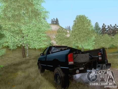Dodge Ram Trophy Truck para GTA San Andreas esquerda vista