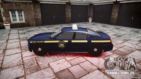 New York State Police Buffalo para GTA 4 esquerda vista