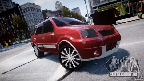 Ford EcoSport para GTA 4 vista lateral