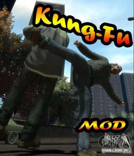 Kung-Fu MOD para GTA 4
