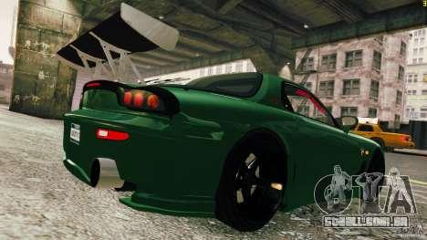 Mazda RX-7 para GTA 4 esquerda vista