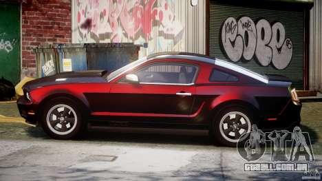 Ford Mustang V6 2010 Chrome v1.0 para GTA 4 esquerda vista