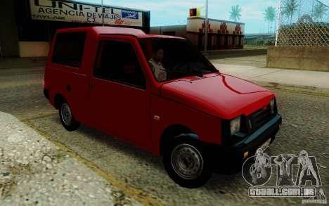 SEAZ Oka Pickup para GTA San Andreas vista traseira