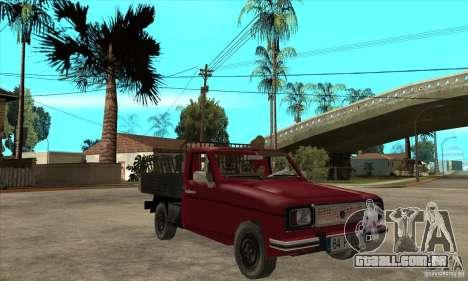 Anadol Pickup para GTA San Andreas vista traseira