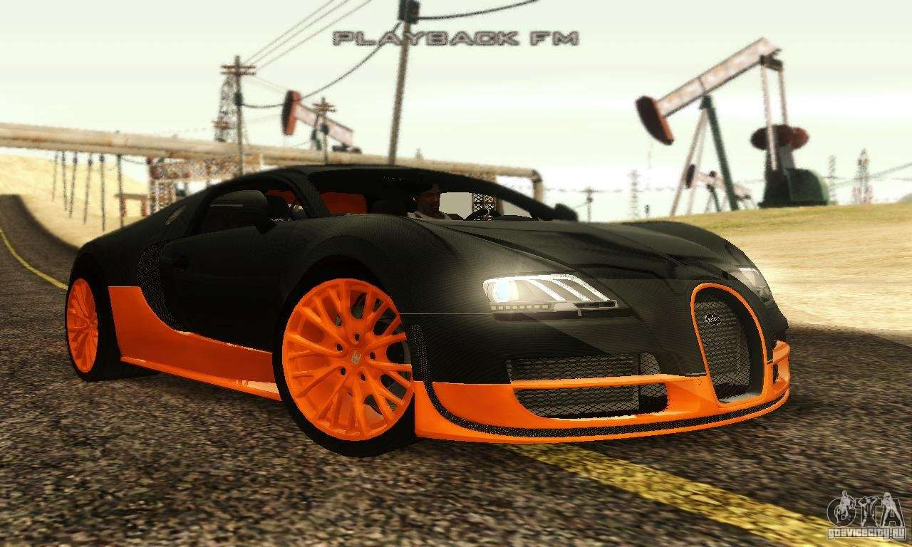 bugatti veyron supersport para gta san andreas. Black Bedroom Furniture Sets. Home Design Ideas