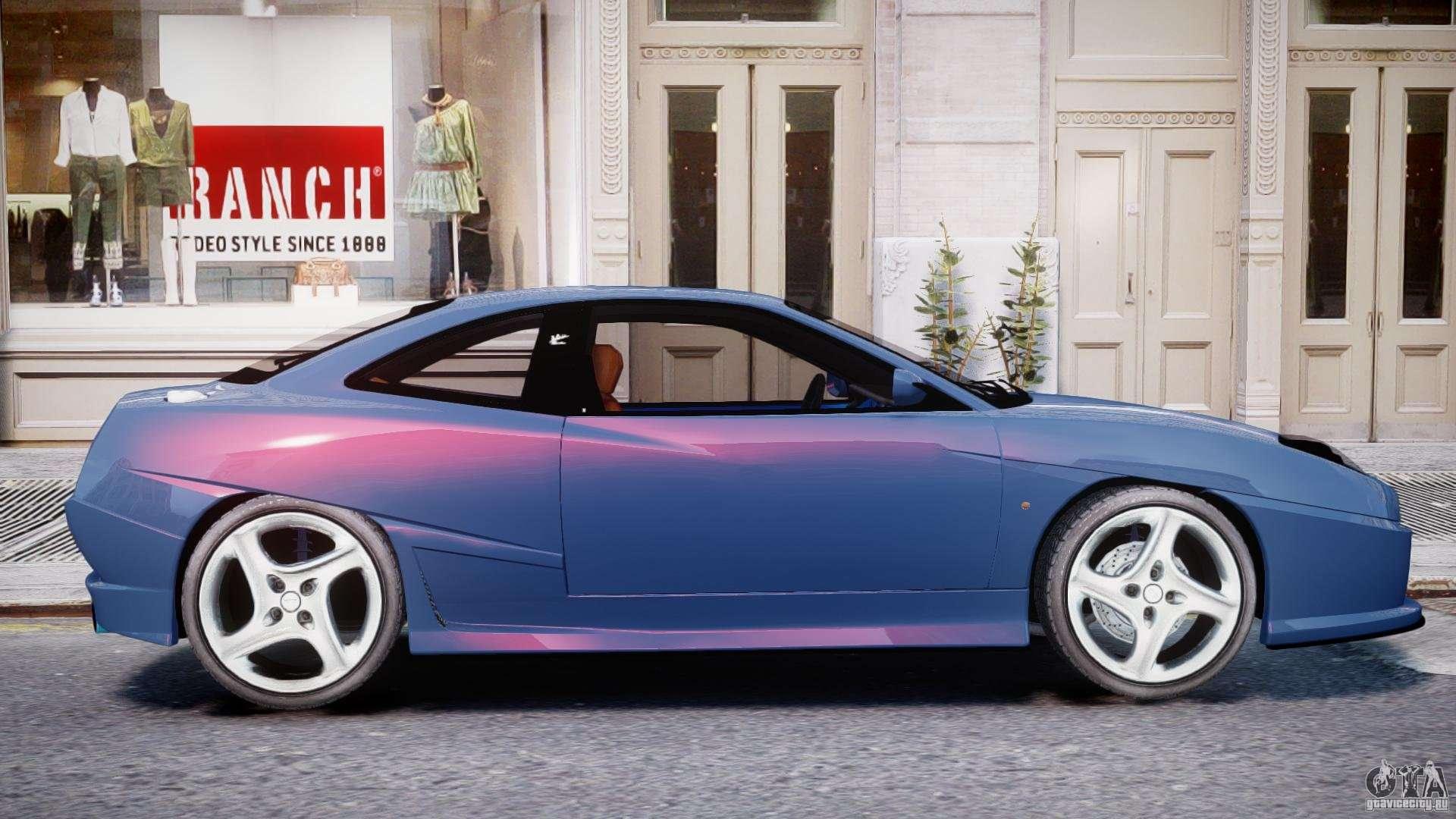 Fiat Coupe 2000 Para Gta 4