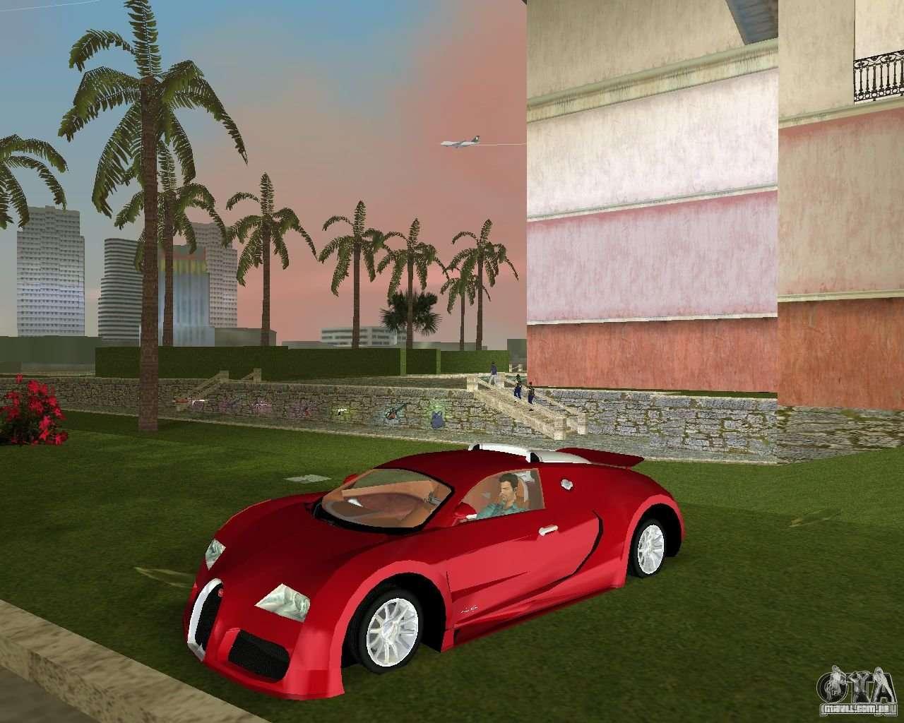 bugatti veyron para gta vice city. Black Bedroom Furniture Sets. Home Design Ideas