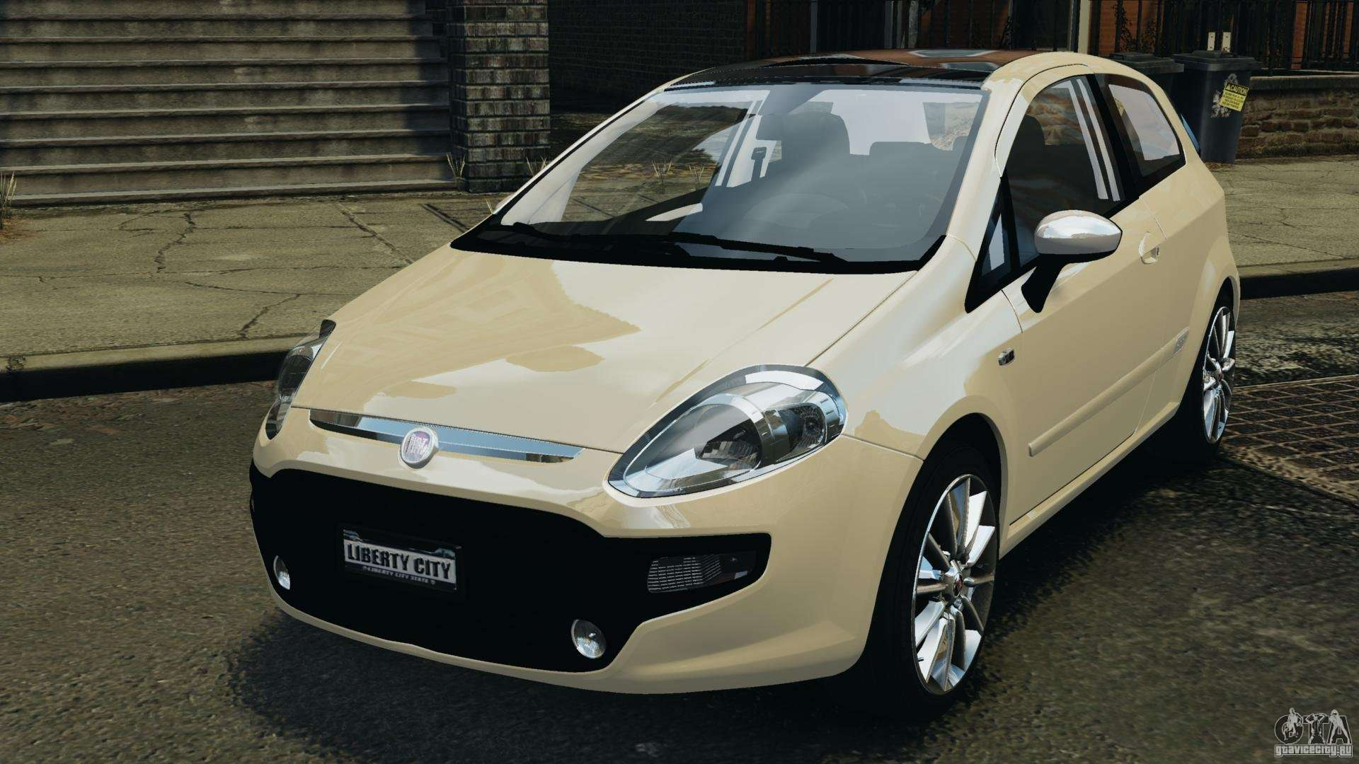 fiat punto evo sport 2012 v1 0 riv para gta 4. Black Bedroom Furniture Sets. Home Design Ideas
