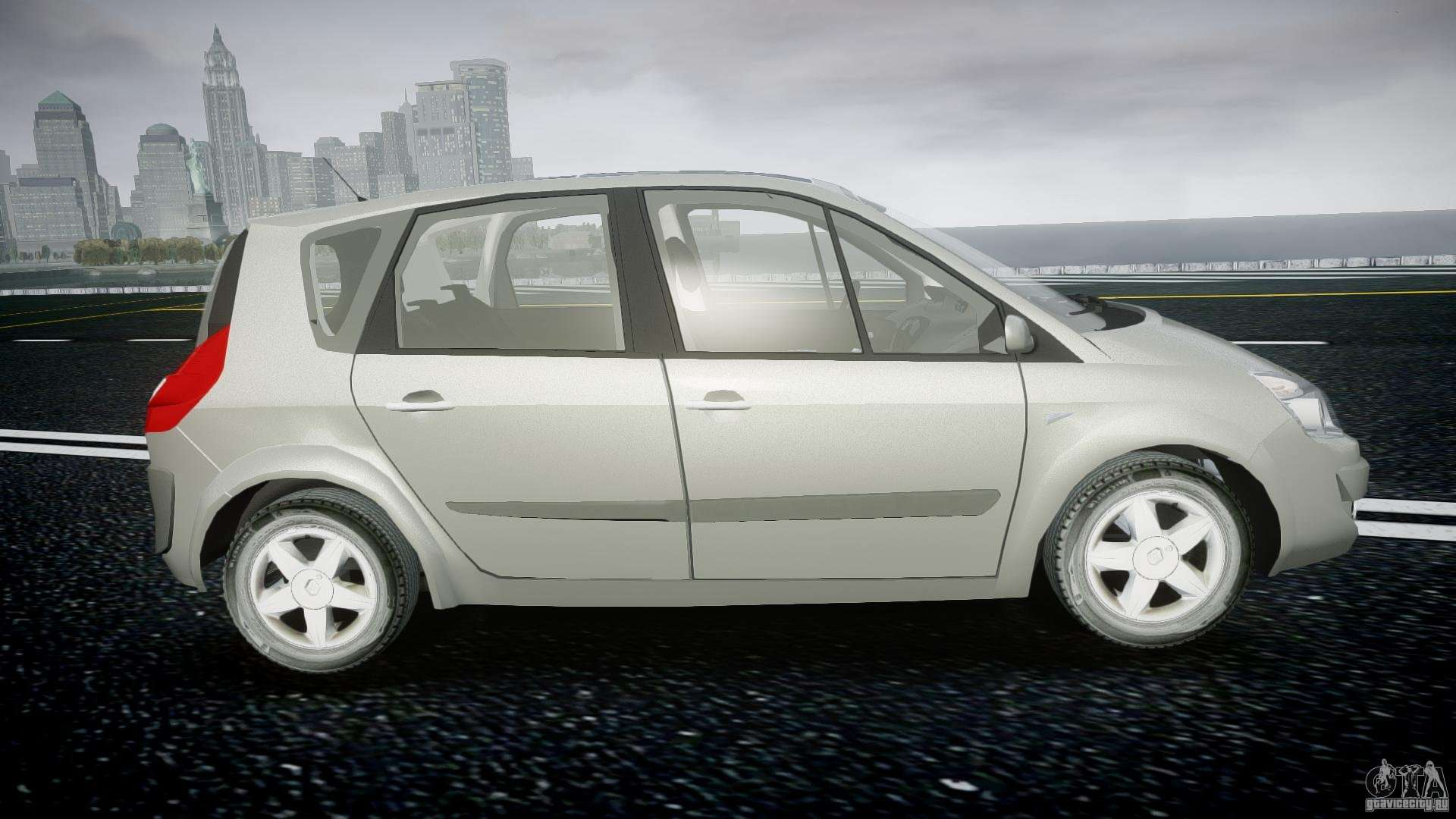 renault scenic ii phase 2 para gta 4. Black Bedroom Furniture Sets. Home Design Ideas