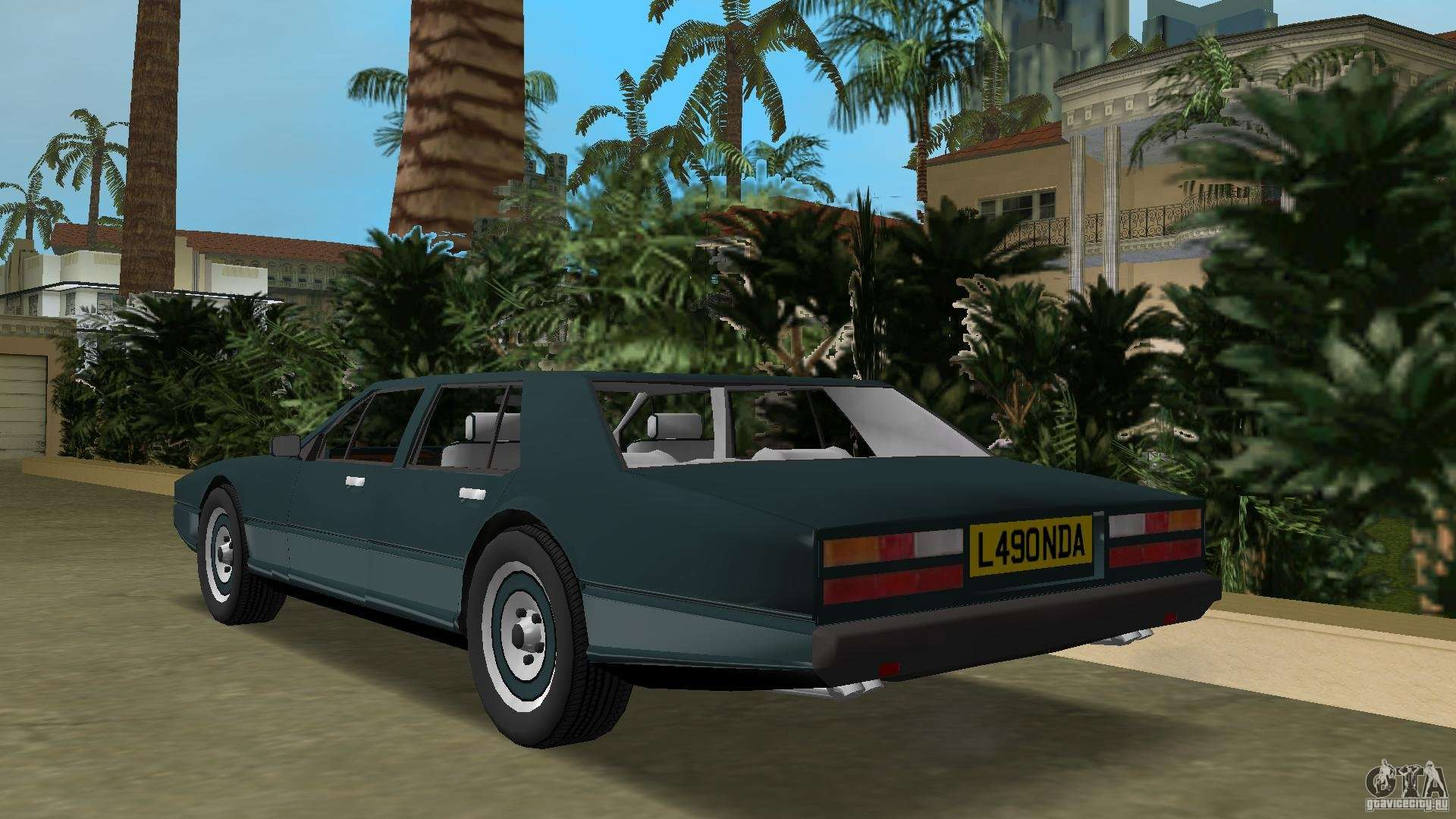 Aston Martin Lagonda I 5 3 1976 1997 Para Gta Vice City