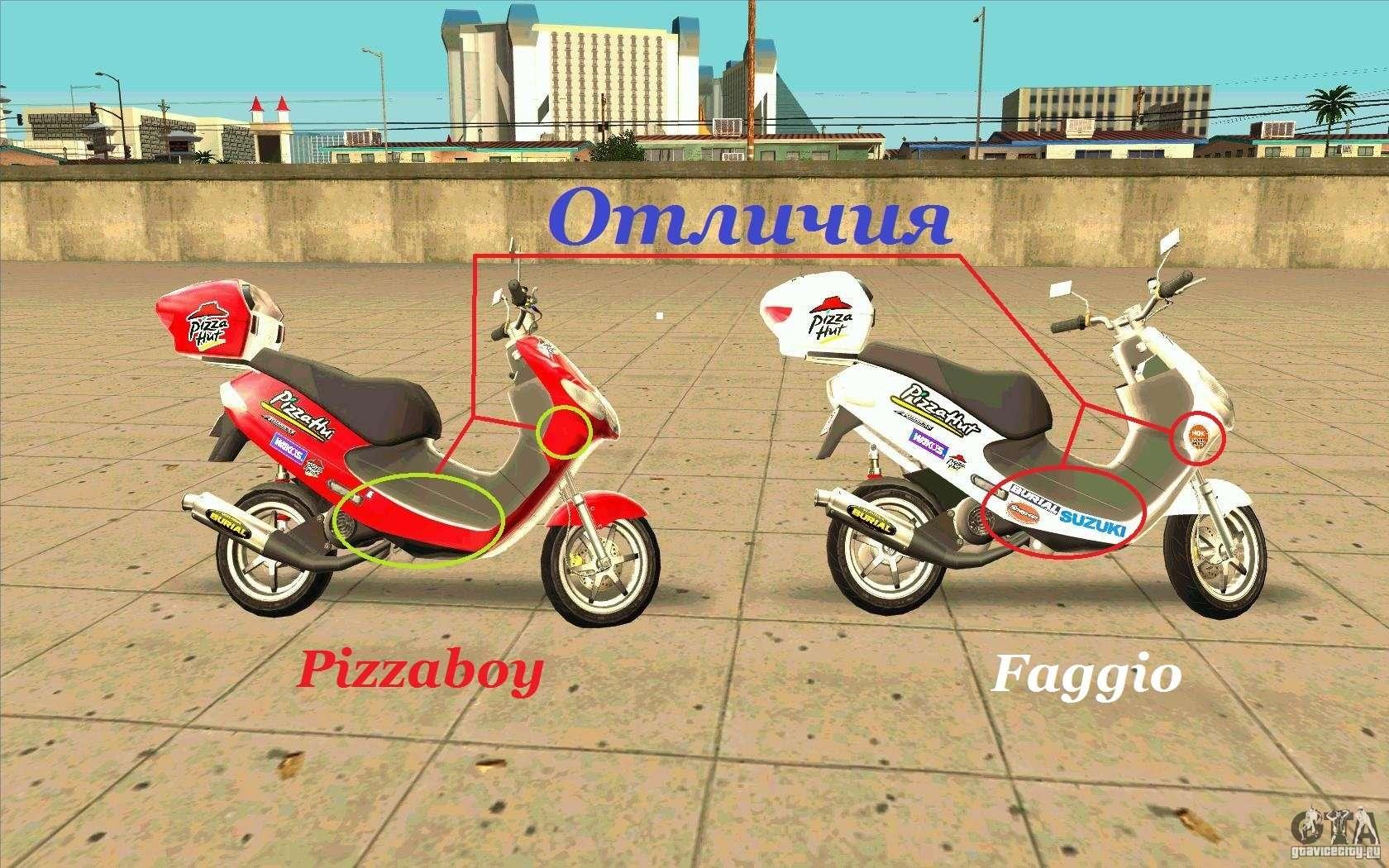 Suzuki Addres para GTA...