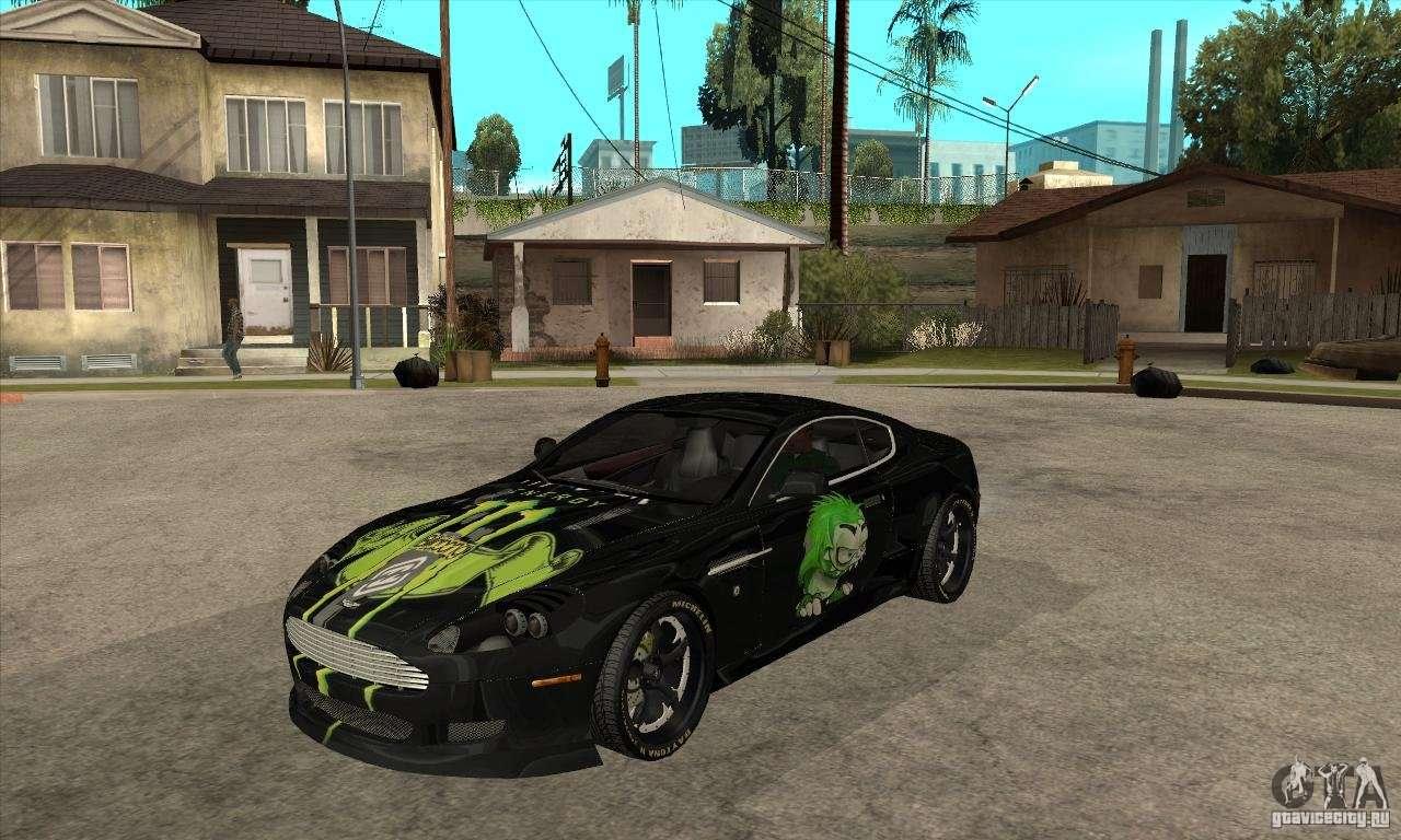 Aston Martin Db9 Nfs Ps Tuning Para Gta San Andreas