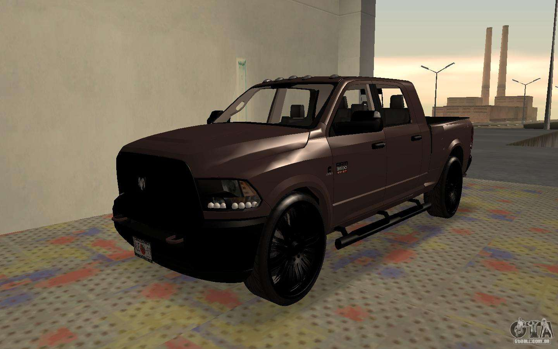 2017 Dodge 3500 >> Dodge Ram 3500 para GTA San Andreas