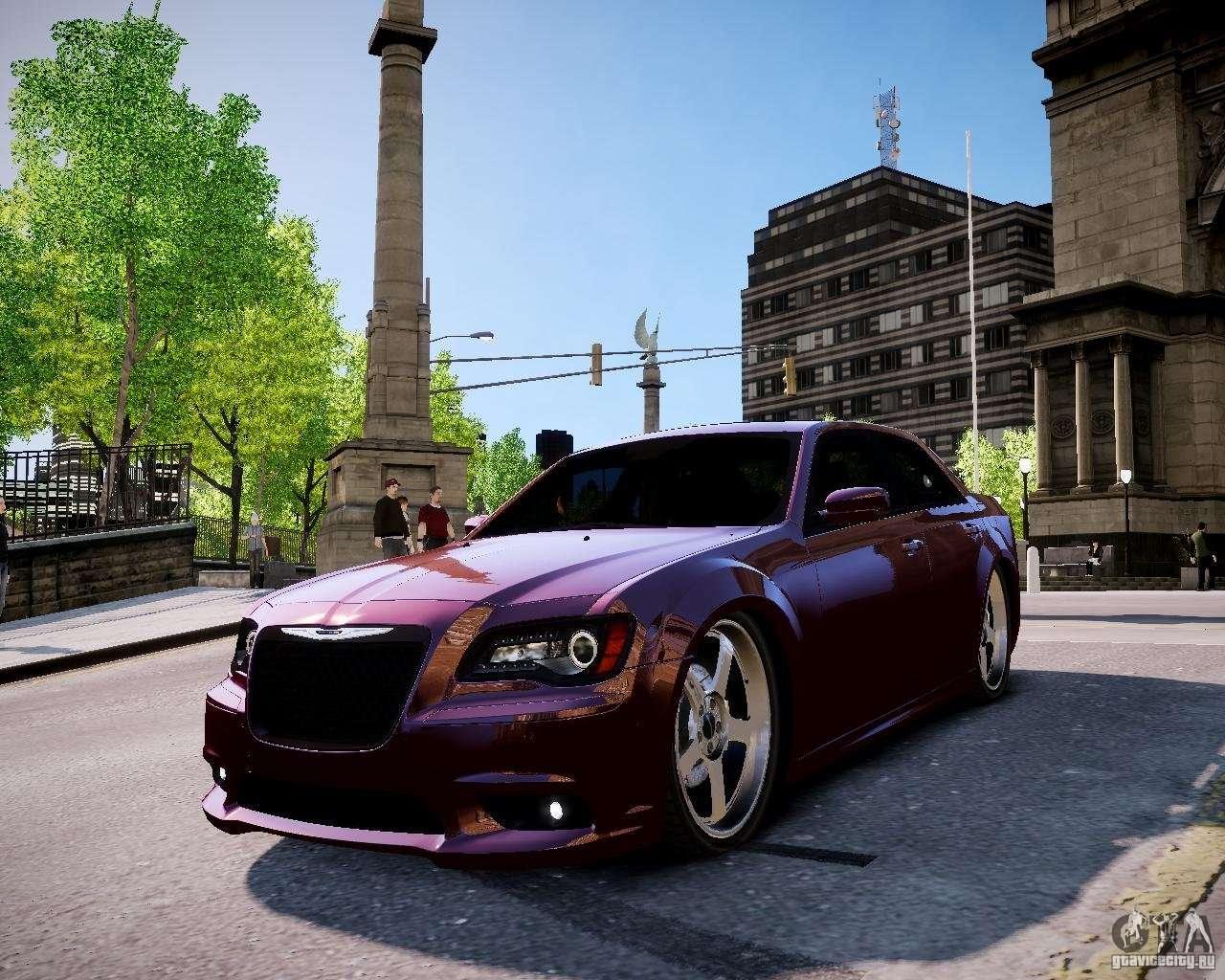 Chrysler 300 Srt8 Dub 2012 Para Gta 4