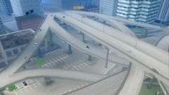 Estradas concretas de Los Santos Beta